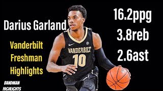 Darius Garland Vanderbilt -Freshman Season  Highlights