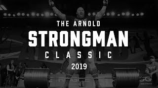 2019 Arnold Strongman Classic | Full Live Stream Day 2 | Final Event - Stone to Shoulder
