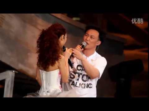 超越CD的版本 Eason Fiona 薛凱琪 陳奕迅 陀飛輪 live 2012-07-08