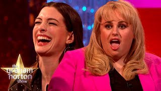 Anne Hathaway & Rebel Wilson LOVE Insulting Each Other   The Graham Norton Show