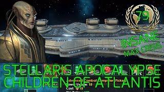 New Ship Designs! :D Stellaris Apocalypse Roleplay CHILDREN OF ATLANTIS Grand Admiral Insane #79