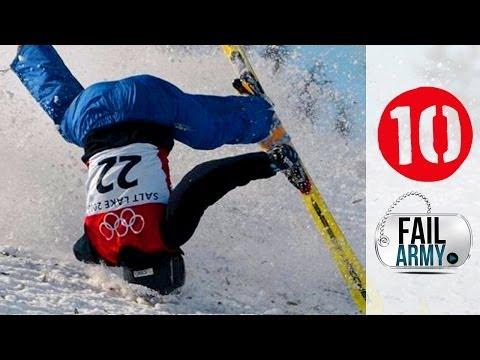 10 најголеми зимски спортски незгоди