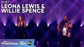 """CHILLS! Leona Lewis & Willie Spence Duet """"You Are The Reason"""" - American Idol 2021"""
