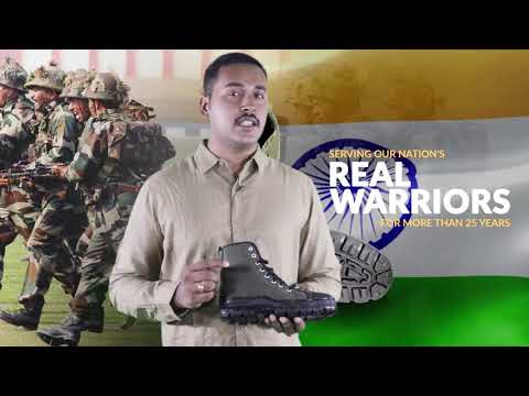 Karo Asli Warrior Jungle Boot ki pehchaan!