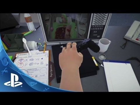 Surgeon Simulator Announcement Trailer | E3 2014 | PS4
