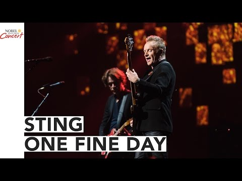 STING - One Fine Day - The 2016 Nobel Peace Prize Concert