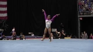 Simone Biles- Floor Exercise - 2016 P&G Gymnastics Championships – Sr. Women Day 1
