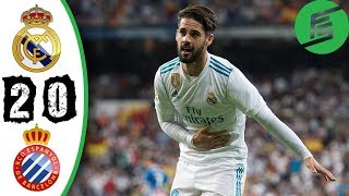 Real Madrid vs Espanyol | FULL Match HD - xem lại bóng đá 01/10/2017 La Liga