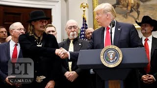 Kid Rock Speaks At The White House