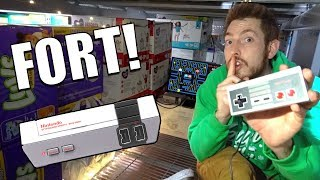 ULTIMATE CLASSIC GAMING FORT!