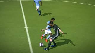 Manchester City 2 - 0 Manchester United | FIFA ONLINE 3 GAMEPKAY SEMI-PRO 1