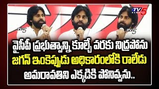 Pawan Kalyan sensational comments on YS Jagan..