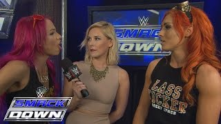 Becky Lynch and Sasha Banks reluctantly agree to help each other: SmackDown, Feb. 4, 2016