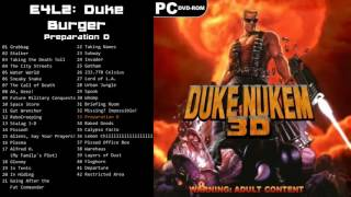 "Duke Nukem 3D: Megaton Edition OST - E4L2: Duke Burger - Track 33 ""Preparation D"""