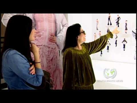 Interview with Norma Kamali - NY Fashion Week Fall 2011 - YouTube