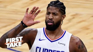 Stephen A. and Max debate the pressure facing Paul George in the postseason   First Take