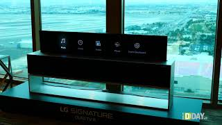 Anteprima video OLED R, il TV arrotolabile di LG