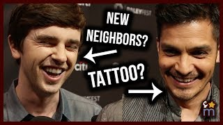THE GOOD DOCTOR Cast Talk THAT TATTOO, Neighbors & Craziest Medical Cases in Season 1 | Paleyfest