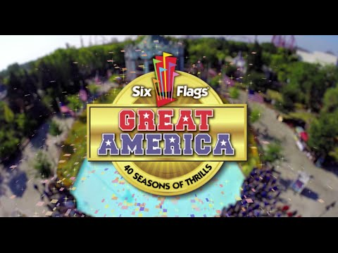 Six Flags Great America to Celebrate 40 Seasons in 2015