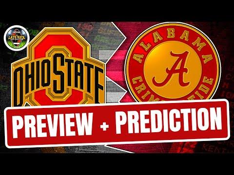 Ohio State vs Alabama - Preview & Prediction (Late Kick Cut)