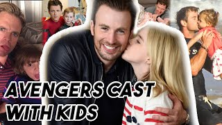 AVENGERS CAST ARE ADORABLE WITH KIDS | Funny Moments Part 2 Avengers: ENDGAME