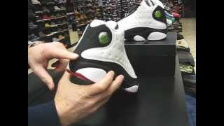 Nike Air Jordan 13 Retro 2013 He Got Game - White, Black, True Red - at Street Gear, Hempstead NY