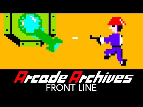 Arcade Archives FRONT LINE Trailer
