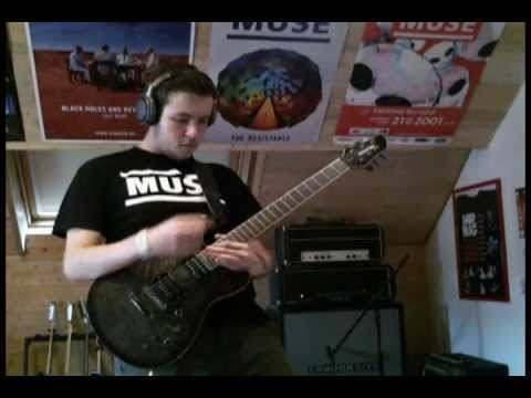 Muse - New Born (Guitar Cover)(HAARP Version)(10TH Anniversary - Origin Of Symmetry - Series)Reading