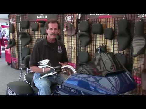 ASTV Mustang Motorcycle Seats Feature