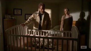 """Walter White's last farewell from his wife and children from Breaking Bad """"Felina"""" (TV Episode 2013)"""