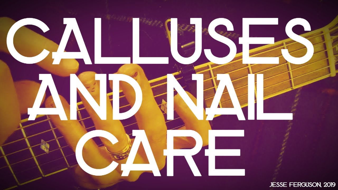 guitarist calluses and nail care handy tips youtube. Black Bedroom Furniture Sets. Home Design Ideas