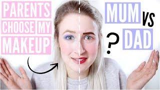 MUM vs DAD £10 MAKEUP CHALLENGE | Sophie Louise