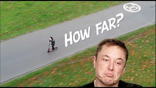 Elon Musk Hates Electric Scooters!? 🧐ZOOM STRYDER EX RANGE TEST (*FAIL*)
