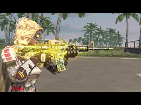 Novo Arma Royale: M4A1 Areia Escaldante
