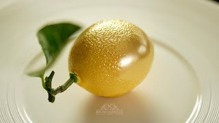 Lemon Shaped Dessert – Bruno Albouze
