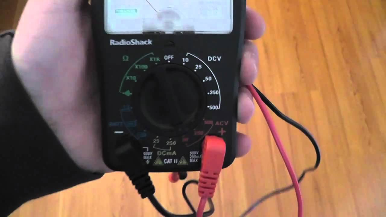 use a multi meter to test for a c wire youtube. Black Bedroom Furniture Sets. Home Design Ideas