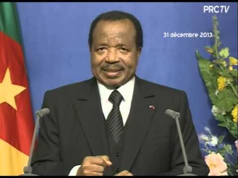 LE DISCOURS DE FIN D'ANNÉE DE S.E. PAUL BIYA A LA NATION