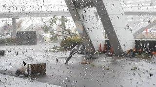 台風21号 各地で猛威/ 和歌山・ 大阪・名古屋の様子
