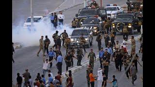 الاحتجاجات في العراق تدخل أسبوعها الثاني     -