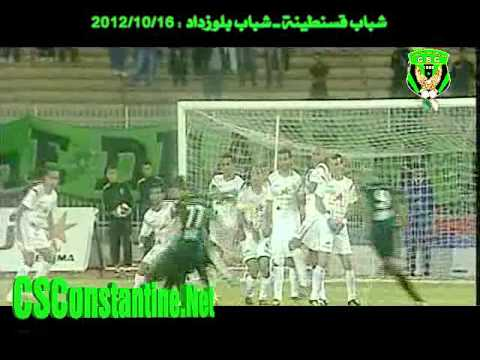 CSC 1 - CRB 0 : Le but de Bezzaz Yassine