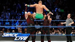 The Hype Bros vs. The Bludgeon Brothers: SmackDown LIVE, Nov. 21, 2017