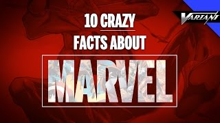 10 Crazy Facts About Marvel Comics!