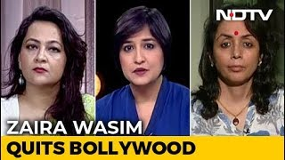 Dangal actress quits Bollywood citing religion..