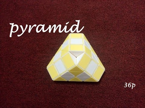 how to solve pyramid cube