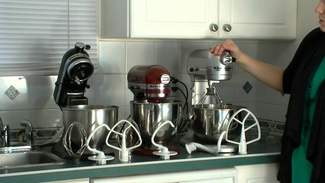 Kitchenaid Pro Vs Kitchenaid Artisan Vs Kitchenaid