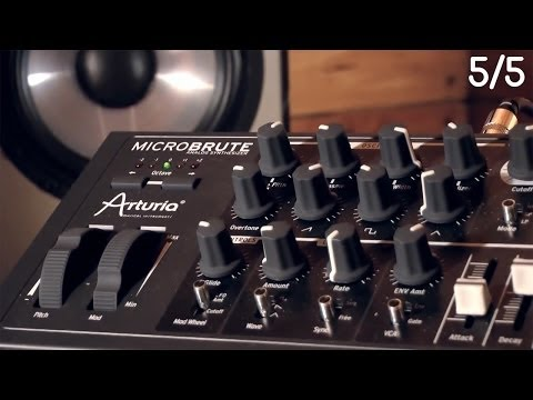 [5]-Arturia MicroBrute TUTORIEL : MicroBrute & MiniBrute - Cas de Figures - Conclusion