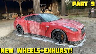 Rebuilding a Wrecked 2010 Nissan GTR Part 9