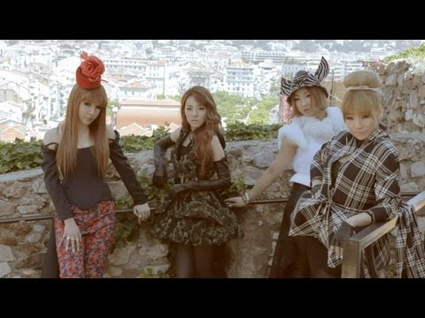 2NE1 X W Korea in Cannes, France