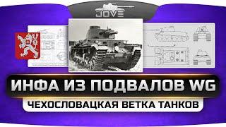Инфа из подвалов WG. Чехословацкая ветка танков на Gamescom 2015.