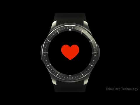 Monitor your fitness regime daily and set fitness goal with smart sports gps watch h368